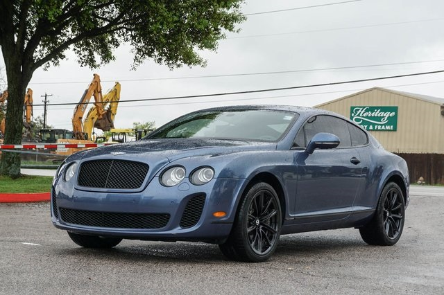 Certified Pre-Owned 2011 Bentley Continental Supersports Base